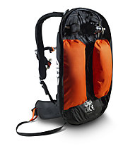 ABS Vario Base Unit Classic+Zip-On 8 - ABS Rucksack, Black