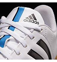 Adidas 11 Questra Indoor Fußballschuh Jr, White/Black