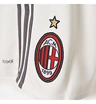 Adidas AC Milan Home Replica Player Pantaloncini 2015/16, Core White/Granite