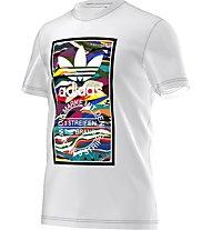 Adidas Originals Color Pattern T Herren T-Shirt Fitness Kurzarm, White