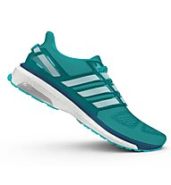 Adidas Energy Boost 3 scarpa running donna, Shock green/White