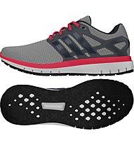 Adidas Energy Cloud - Herrenlaufschuhe, Grey/Red