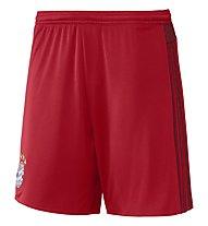 Adidas FC Bayern Home Short - pantaloncini da calcio, Red