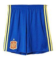 Adidas UEFA EURO 2016 Spanien Heimshorts Replica Junior, Royal Blue