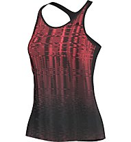 Adidas Graphic Tank C Damen, Black/Flash Red