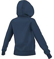Adidas Originals Hooded Sweathoodie Damen Kapuzenpullover Fitness, Blue