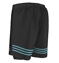 Adidas Short Response Dual - kurze Laufhose, Black