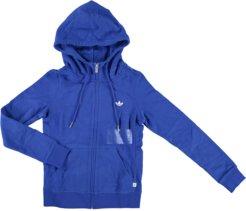 Adidas Slim Zip Hoodie Graphic giacca donna