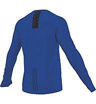 Adidas Supernova L/S maglia running, Blue