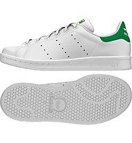 Adidas Originals Stan Smith Turnschuh Junior, White/Green