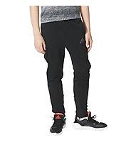 Adidas Urban Football Performer Tiro - pantaloni calcio bambino, Black