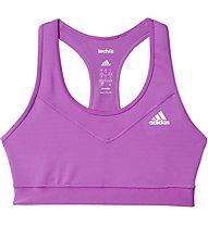 Adidas Workout Techfit Bra Reggiseno Sportivo, Pink