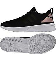 Adidas Originals ZX Flux Verve Sneaker Damen, Black/Copper