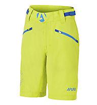 Apura Pantaloni bici bambino Spaceelement, Lime/Blue