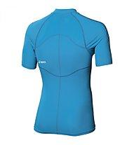 Asics Inner Muscle 1/2 zip T-Shirt Running, Atlantic Blue