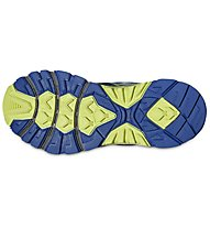 Asics GEL - Fuji Trabuco 4 W - Damen Trail Running Schuh, Blue/Green/Carbon