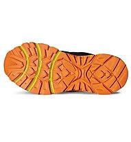 Asics Gel Stormplay GS G-TX - scarpa trail running bambino, Black/Orange