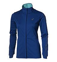 Asics Lite Show Winter Jkt W - giacca running donna, Blue