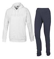 Asics Silvia Trainingsanzug, White/Ombre