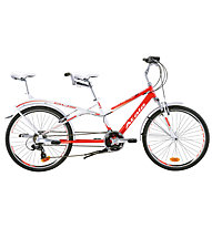 "Atala Bici Tandem Due Smart 15"", Red/White"