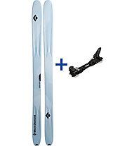 Black Diamond Carbon Convert Set: Ski+Bindung