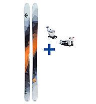 Black Diamond Current Set: Ski + Bindung