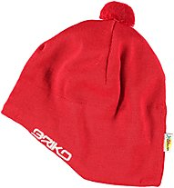 Briko Wool Head Protection, Red