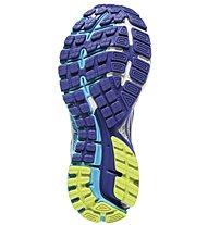Brooks Adrenaline GTS 16 W - Damenlaufschuh, Blue/Yellow