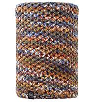 Buff Knitted & Polar Fleece Neckwarmer Margo donna, Orange