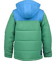 Burton Boys' Icon Puffy Snowboardjacke Kinder, Blue-Ray/Turf