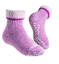 GM Merino Home Junior Socken, Fuchsia