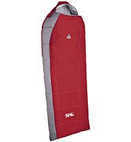 Camp Sint Compact 200 - sacco a pelo sintetico, Carmine Red/Grey