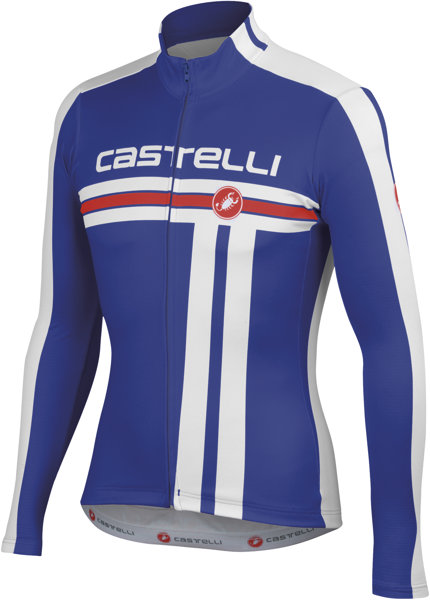 Castelli Free Jersey FZ Maglietta bici Maglietta maniche lunghe