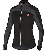 Castelli Mortirolo 2 W Jacket Giacca ciclismo donna, Black