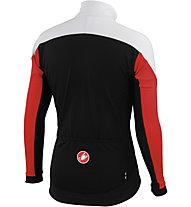 Castelli Mortirolo 3 Jacket, Red/White/Black