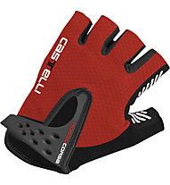 Castelli S. Rosso Corsa Glove, Red/Black