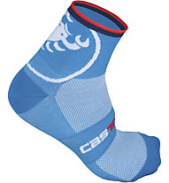Castelli Velocissimo Giro 6 Sock, Drive Blue