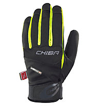 Chiba Tour Plus Winter-Fahrradhandschuh, Black/Neo-Yellow
