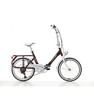 Cicli Cinzia Sixtie's Aluminium 20 Faltrad, Amaranto