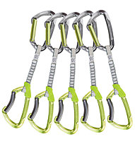 Climbing Technology Lime Set DY - set rinvii, Green/Metal
