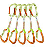 Climbing Technology Nimble EVO Set DY - Express Set, Green/Orange
