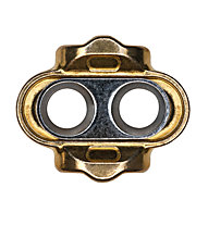 Crank Brothers Tacchette pedali XC/Race 0º Zero Float Cleats, Gold