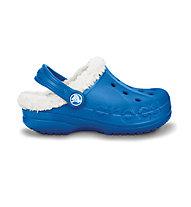 Crocs Baya Lined Kids, Sea Blue/Oatmeal