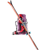 Deuter Rise Tour 40+ SL - zaino scialpinismo donna, Red