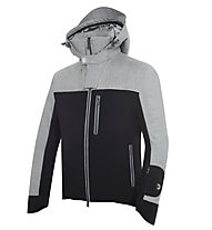 Dotout Crush Skijacke, Black/Melange Dark Grey