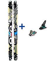 Dynafit Grand Teton FR Set: Ski+Bindung