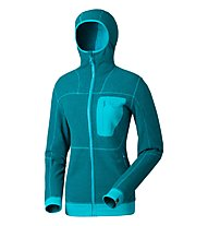 Dynafit Mera 2 Ptc W Hoody Giacca in pile donna, Blue