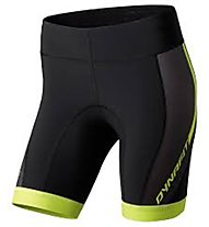 Dynafit React DRY W Short Tights, Black/Cactus