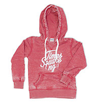 Everlast Burn Out Sweatshirt Hoodie Mädchen, Red