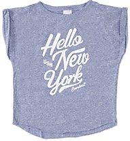 Everlast T-S M/C Stampa T-Shirt Bambina, Dark Blue